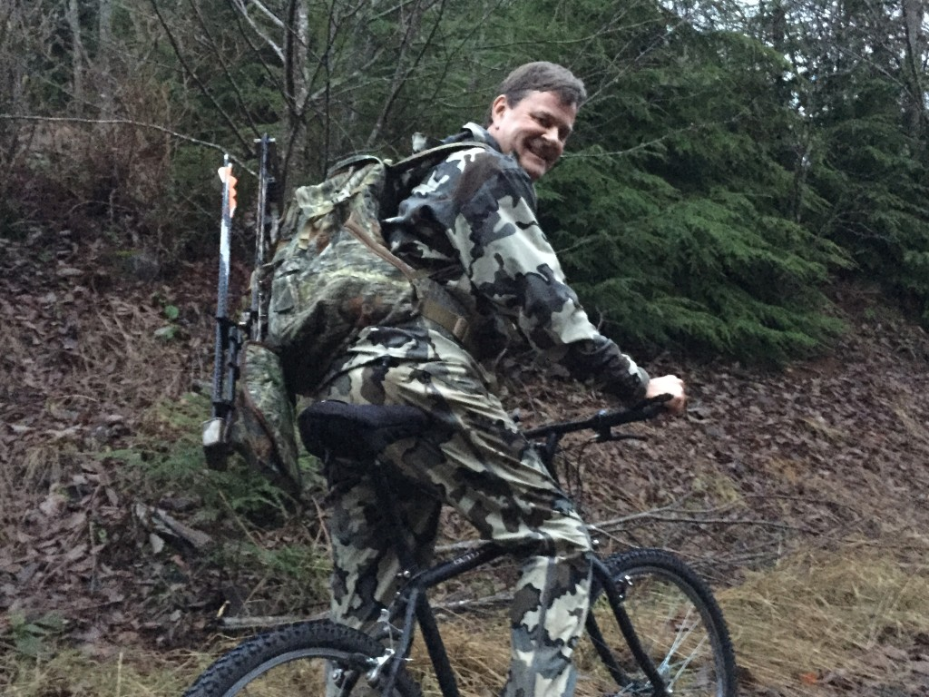 Mountain Biking on Elk Hunt